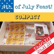 #BAHD on the 4th of July, Pork-free, Mini-Feast!  <br /><span class='product-bracket'>(Complete Home Kit) SAVE £8! <br /><span class='product-bracket'>(o:</span>