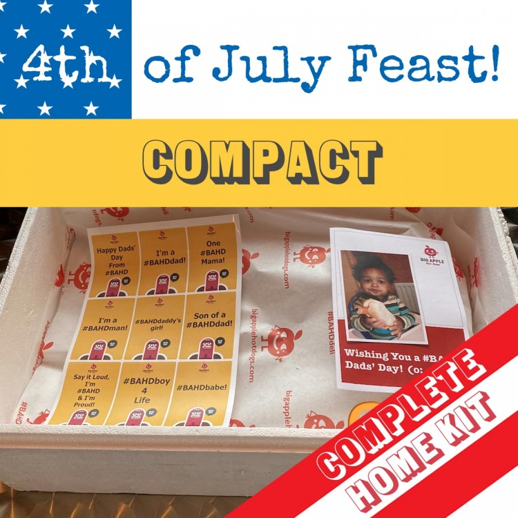 #BAHD on the 4th of July, Pork-free, Mini-Feast!  (Complete Home Kit) SAVE £8! (o: