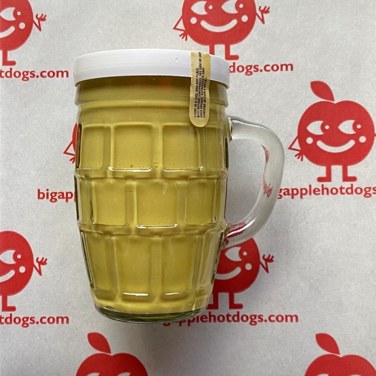 "The Perfect Hot Dog Mustard - Comes in a Free ""Bier"" Glass! <br /><span class='product-bracket'>(255ml)</span>"