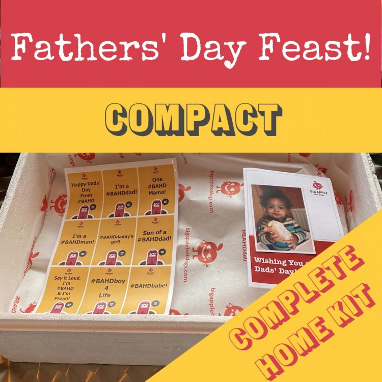 Fathers' Day Mini Feast for 5!  (Complete Home Kit)