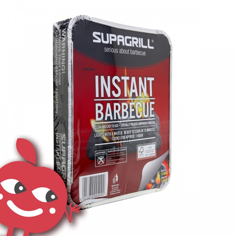 #BAHD Bubble BBQ  <br /><span class='product-bracket'>(disposable instant BBQ) </span>