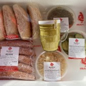 The Lovers - A Sausage Extravaganza! <br /><span class='product-bracket'>(Meal Kit for 2 -  majestic Huge Poles guaranteed :o)  Save Big-ly too!</span>