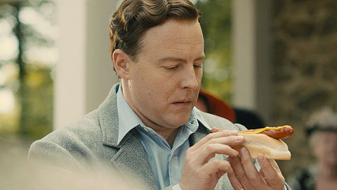 King George VI (Sam West) Eating The King of Wieners - The British bulldog Royale.